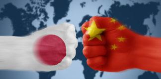 Противостояние китая и японии