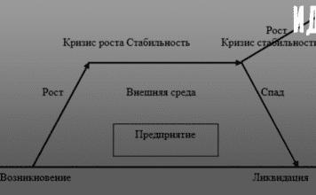 Маркетинговой стратегия в зависимости от жизненного цикла предприятия