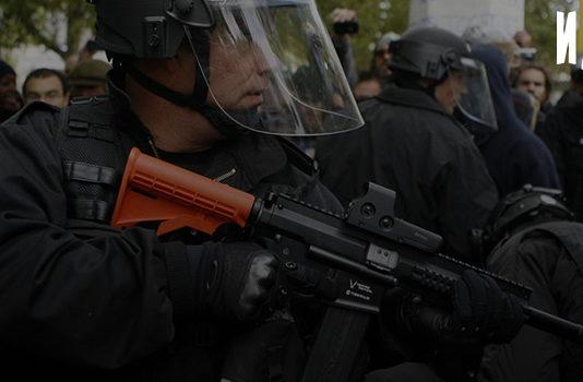 Проблемы использование оружия нелетального действия